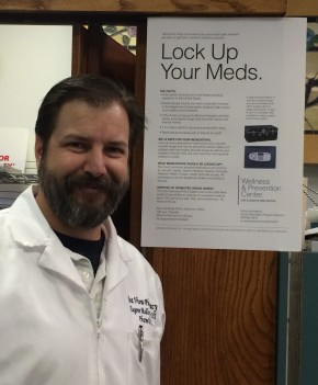 """Lock Up Your Meds"" Awareness Campaign"