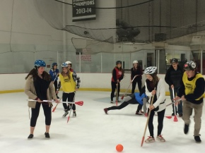 November Broom Ball Event Wrap Up